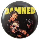 The Damned - 'Group Foam Face' Button Badge